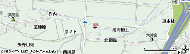 福島県福島市大笹生(行人田)周辺の地図
