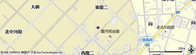福島県福島市本内(東慶二)周辺の地図