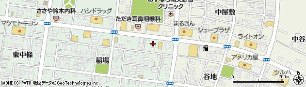 もみかる福島 イオン通り店周辺の地図