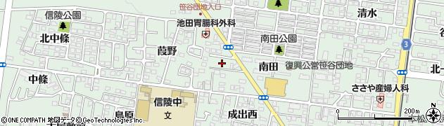 赤松塾周辺の地図
