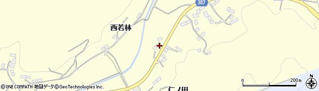 福島県伊達市保原町高成田(五斗蒔)周辺の地図