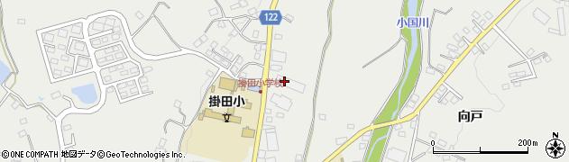 福島県伊達市霊山町掛田(高田)周辺の地図