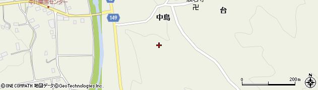 福島県伊達市霊山町中川(前神)周辺の地図