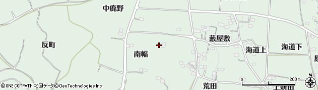 福島県福島市大笹生(南幅)周辺の地図