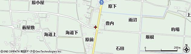 福島県福島市大笹生(豊内)周辺の地図