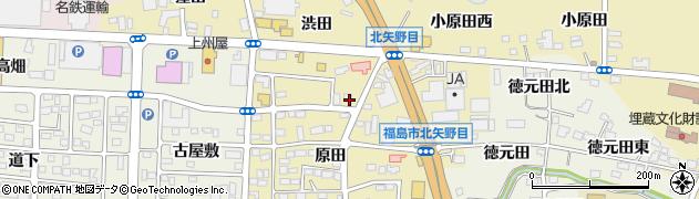 株式会社JAふくしま未来サービス 福島催事センター・JAホール・やのめ周辺の地図