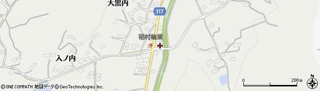 福島県伊達市保原町所沢(竹ノ内)周辺の地図
