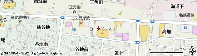 福島県福島市南矢野目(菅原)周辺の地図