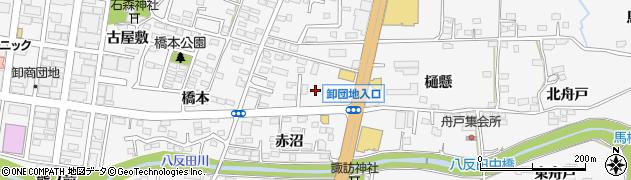 福島県福島市鎌田(樋口)周辺の地図