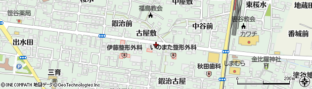角田電設工業有限会社周辺の地図