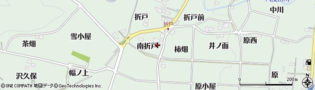 福島県福島市大笹生(南折戸)周辺の地図