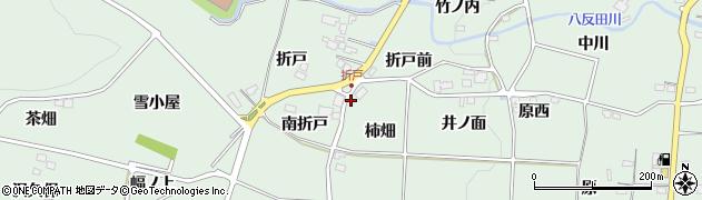 福島県福島市大笹生(柿畑)周辺の地図