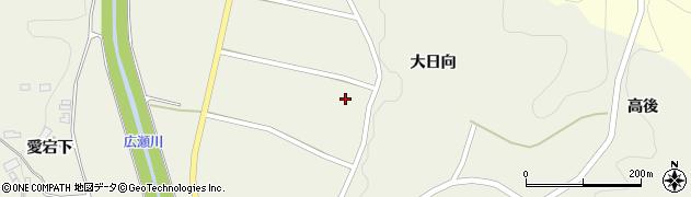 福島県伊達市霊山町中川(池下)周辺の地図
