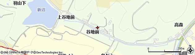 福島県伊達市保原町大柳(谷地前)周辺の地図