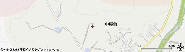 福島県伊達市霊山町掛田(斉ノ入)周辺の地図