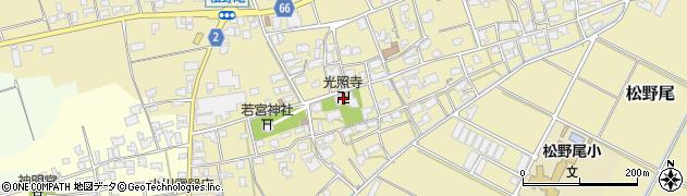 光照寺周辺の地図