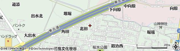 株式会社サン配送センター 福島北営業所周辺の地図
