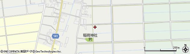 新潟県新潟市南区赤渋下赤渋周辺の地図