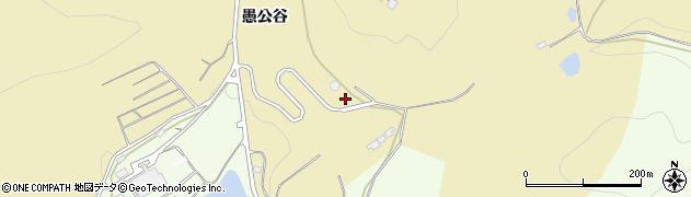 福島県伊達市保原町上保原(愚公谷)周辺の地図