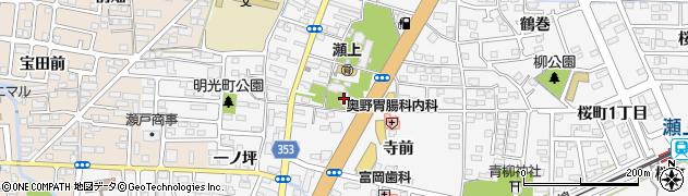 台厳寺周辺の地図