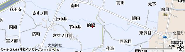 福島県福島市沖高(的場)周辺の地図