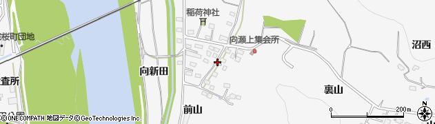 福島県福島市瀬上町(向瀬上)周辺の地図