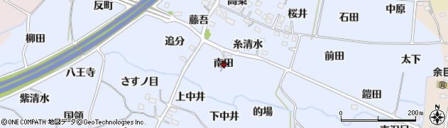 福島県福島市沖高(南田)周辺の地図