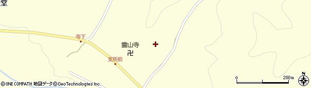 福島県伊達市霊山町大石(倉波)周辺の地図