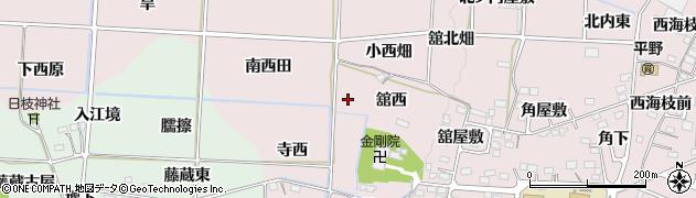 福島県福島市飯坂町平野(荒屋敷)周辺の地図