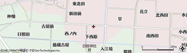 福島県福島市飯坂町平野(新田前)周辺の地図