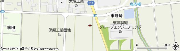 福島県伊達市保原町所沢(西郡山)周辺の地図
