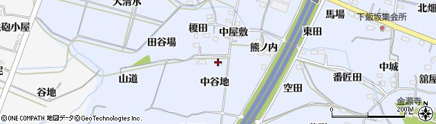 メナード化粧品福島東代行店アカイ周辺の地図
