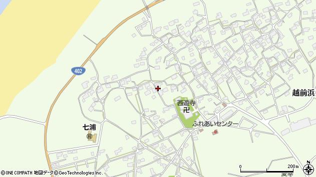 〒953-0012 新潟県新潟市西蒲区越前浜の地図