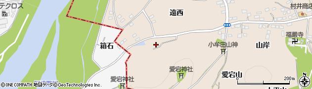 福島県伊達市箱崎(愛宕山)周辺の地図