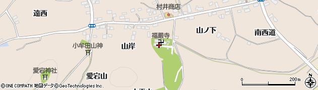 福巌寺周辺の地図