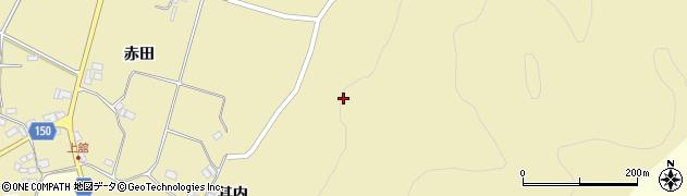 福島県伊達市霊山町泉原(新田)周辺の地図