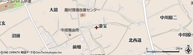 福島県伊達市箱崎周辺の地図