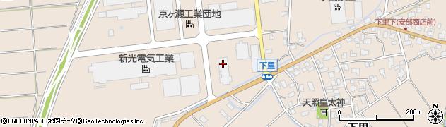 丸新輸送株式会社 京ケ瀬営業所周辺の地図