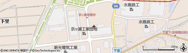 新潟交通観光バス株式会社 京ヶ瀬営業所周辺の地図