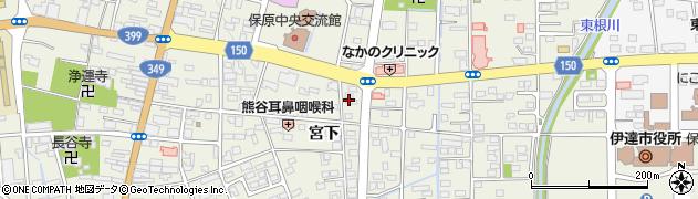 富士美容室周辺の地図