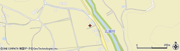 福島県伊達市梁川町大関(北原)周辺の地図