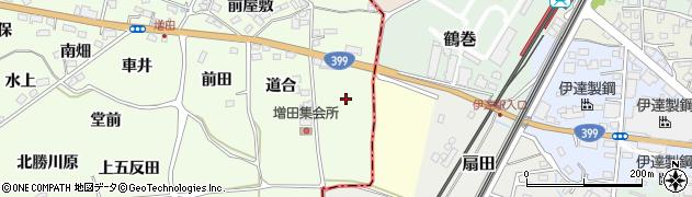 福島県福島市飯坂町東湯野(柳町)周辺の地図