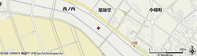 福島県伊達市伏黒(薬師堂)周辺の地図