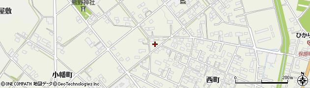 福島県伊達市保原町(宮内町)周辺の地図