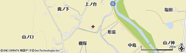 福島県伊達市梁川町大関(鑿通上)周辺の地図
