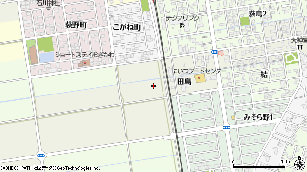 〒956-0013 新潟県新潟市秋葉区田島の地図