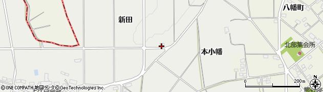 福島県伊達市伏黒(新田)周辺の地図