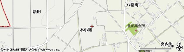 福島県伊達市伏黒(本小幡)周辺の地図