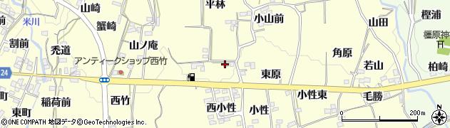 福島県福島市飯坂町湯野(平林前)周辺の地図