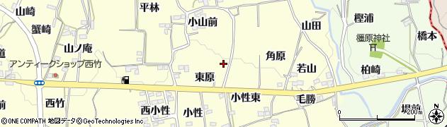 福島県福島市飯坂町湯野(東原)周辺の地図